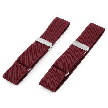 Jednoduché vínové elastické pásky na rukávy