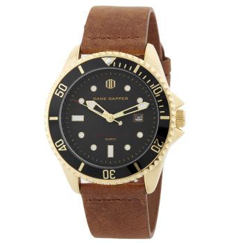 Brown Golden Mariner Watch