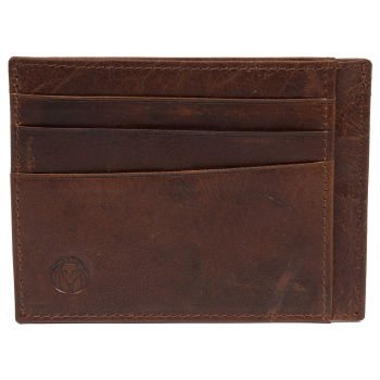 Montreal Tan RFID Leather Card Holder