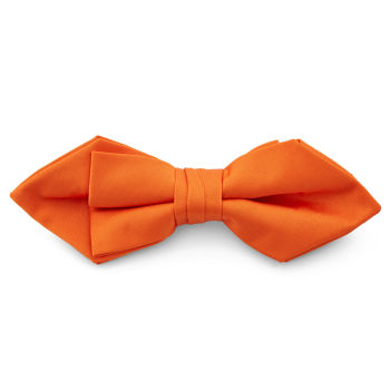 Kirkuvan oranssi suippokärkinen perusrusetti