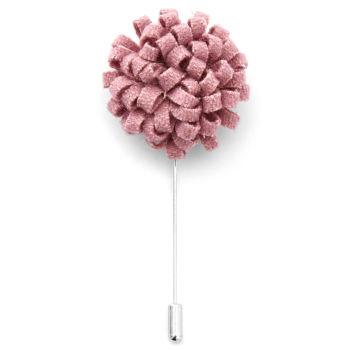 Boutonnière à fleur rose créative