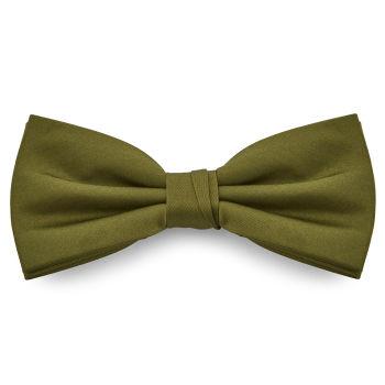Pajarita básica verde oliva