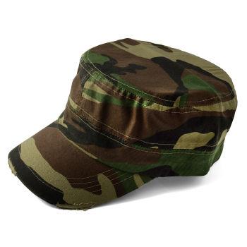 Gorra de cadete de camuflaje