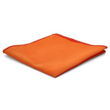 Pañuelo de bolsillo básico naranja chillón