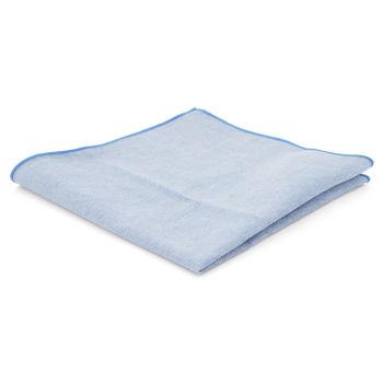 Pañuelo de bolsillo azul claro