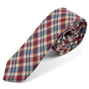 Corbata de lana a cuadros escoceses Forrester