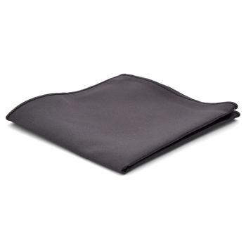 Pañuelo de bolsillo básico gris oscuro