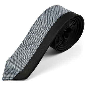 Corbata de lana con diseño ejecutivo