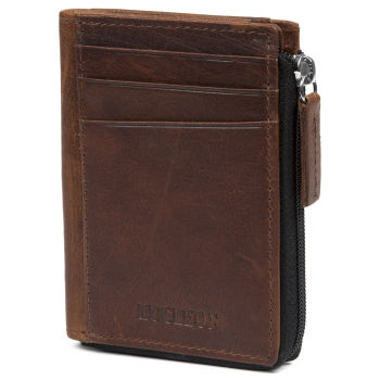 Montreal Casual Tan RFID Leather Wallet