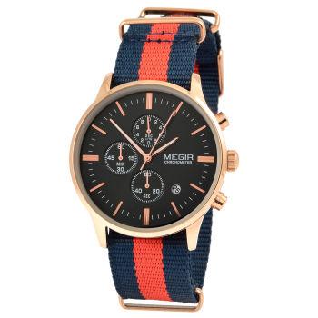 Złoto-czarny zegarek Riviera