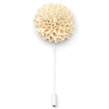 Dandelion Cream Lapel Flower