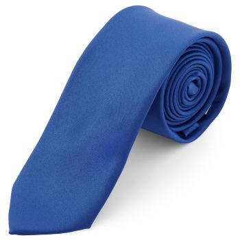 Corbata básica azul 6 cm