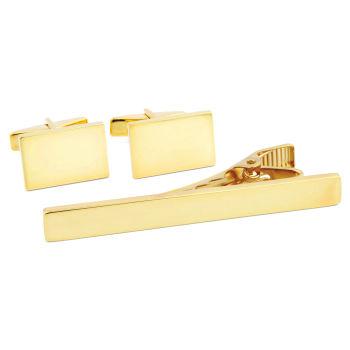 Klassisk 925s-Sæt i Guld
