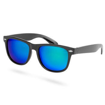 Gafas polarizadas espejadas verde y azul
