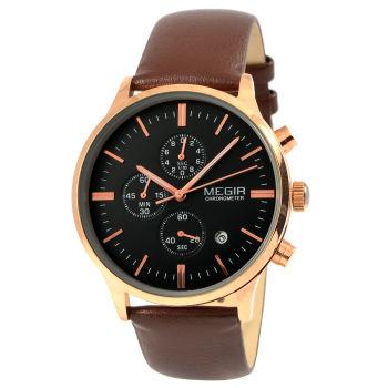 Reloj Baton marrón