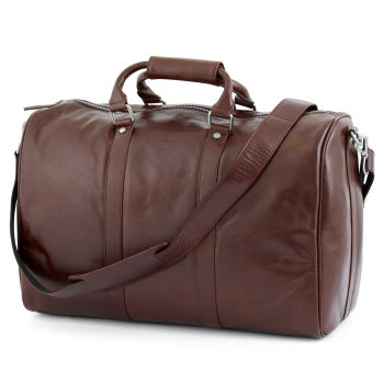 Brown Slim Jasper Duffel Bag