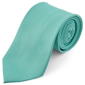 Corbata básica turquesa 8 cm