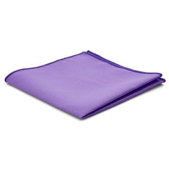 Pañuelo de bolsillo básico lila