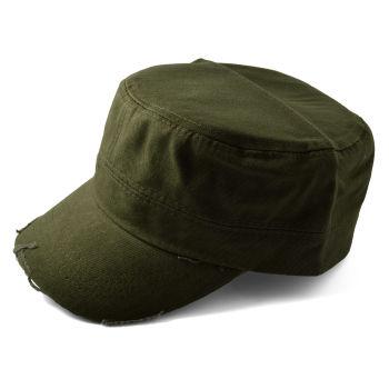 Gorra de cadete verde oliva