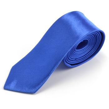 Corbata moderna azul
