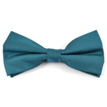 Pajarita básica azul verdoso
