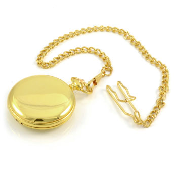 Reloj de bolsillo dorado