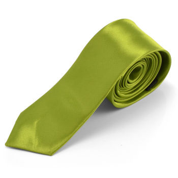 Corbata verde oliva