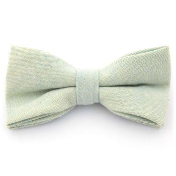 Pajarita de algodón azul claro
