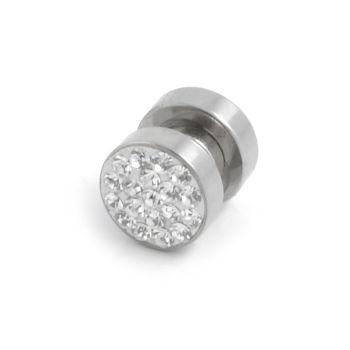 8mm Zircon Magnetic Earring