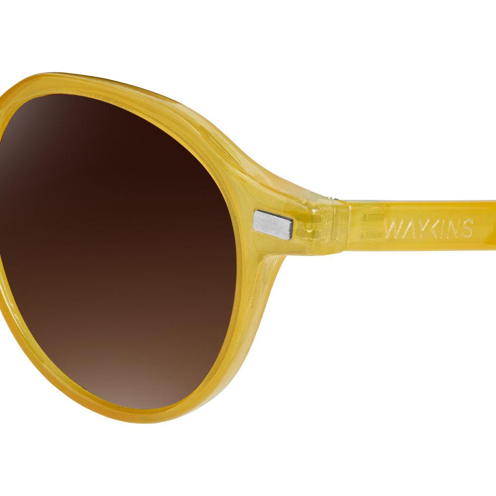 Wagner Gelbe & Braune Sonnenbrille gLJRvNtwPd