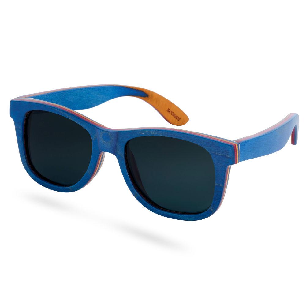 Rote Polarisierte Sonnenbrille Aus Skateboard Holz yln2ajU8