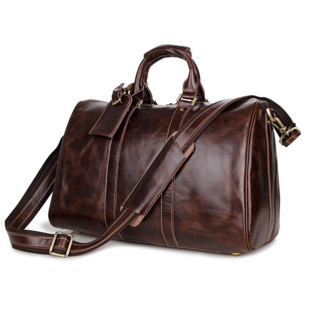 Bags Lederen Holdall Gratis Stijlvolle Verzending Delton Bruin YOTxCqw1