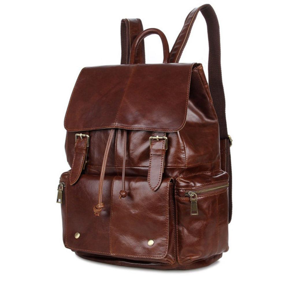Sac Dos Gratuit CognacPort Vintage Bags À En Delton Cuir uTF5JlcK13