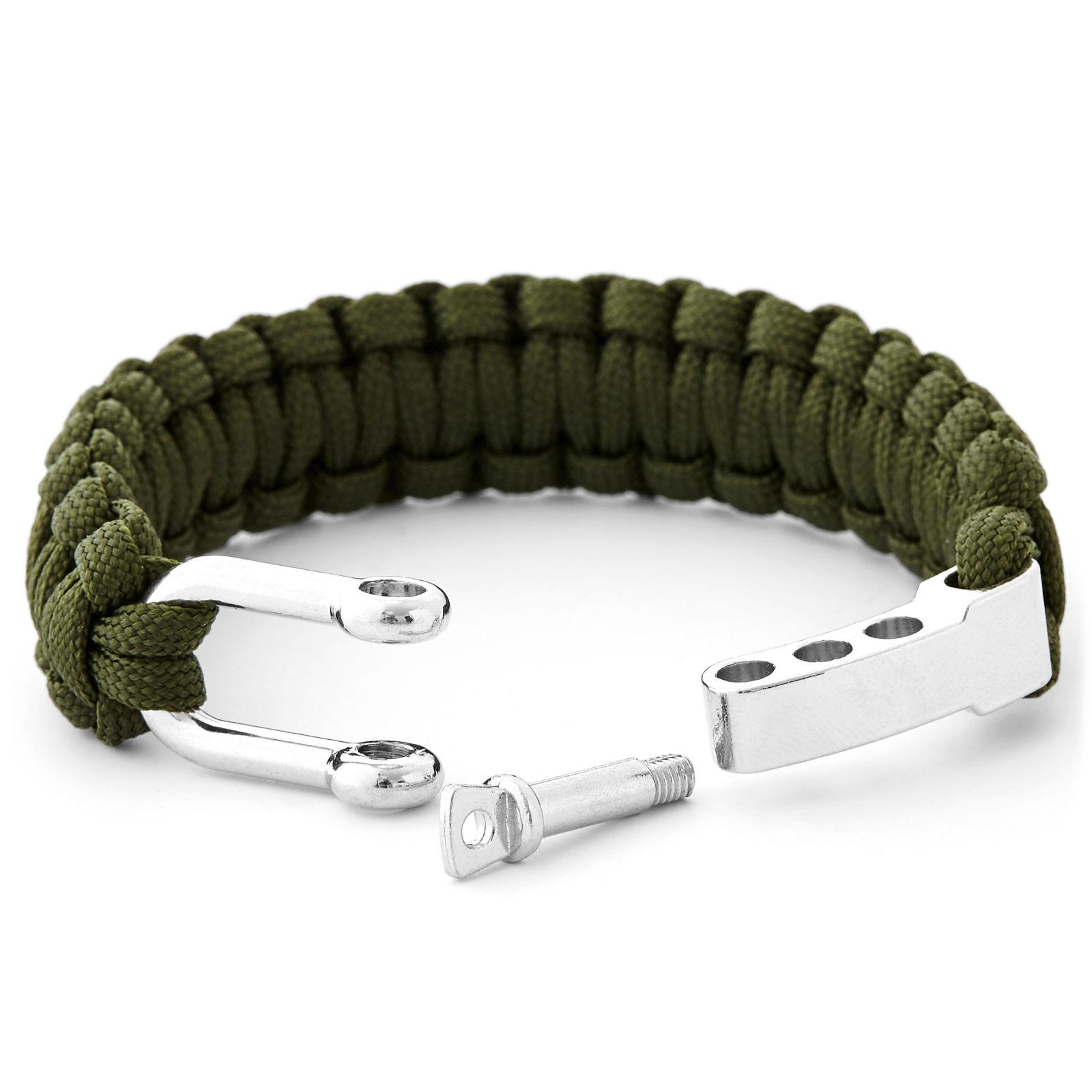 Vert Firestarter Bracelet En Acier Paracord Trendhim Réduction Avec Paypal Le Plus Récent En Ligne Payer Avec Visa boutique Mode Pas Cher En Ligne IfMVgXj