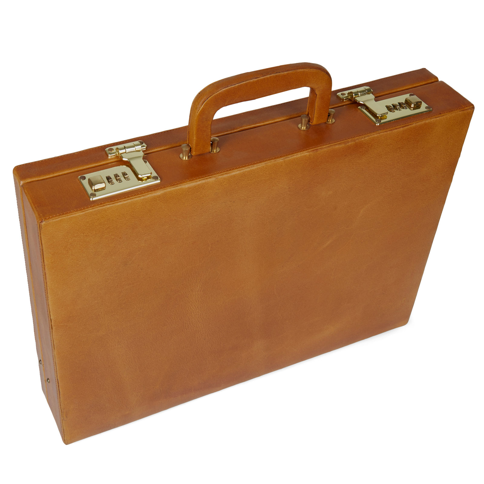 Porte-documents en cuir marron Bucko vjvoCrC