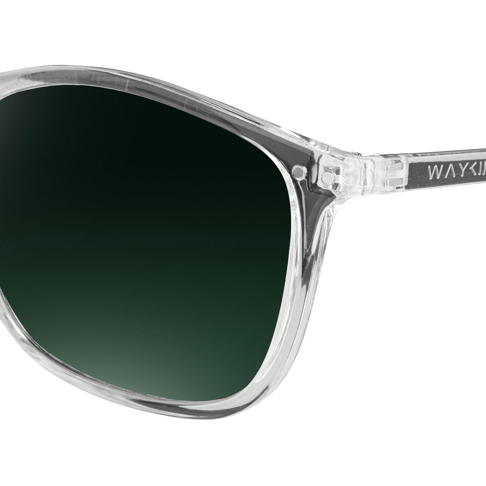 Groene Walden Zonnebril Transparante Op Voorraad Waykins amp; 1wvqZ4axzv