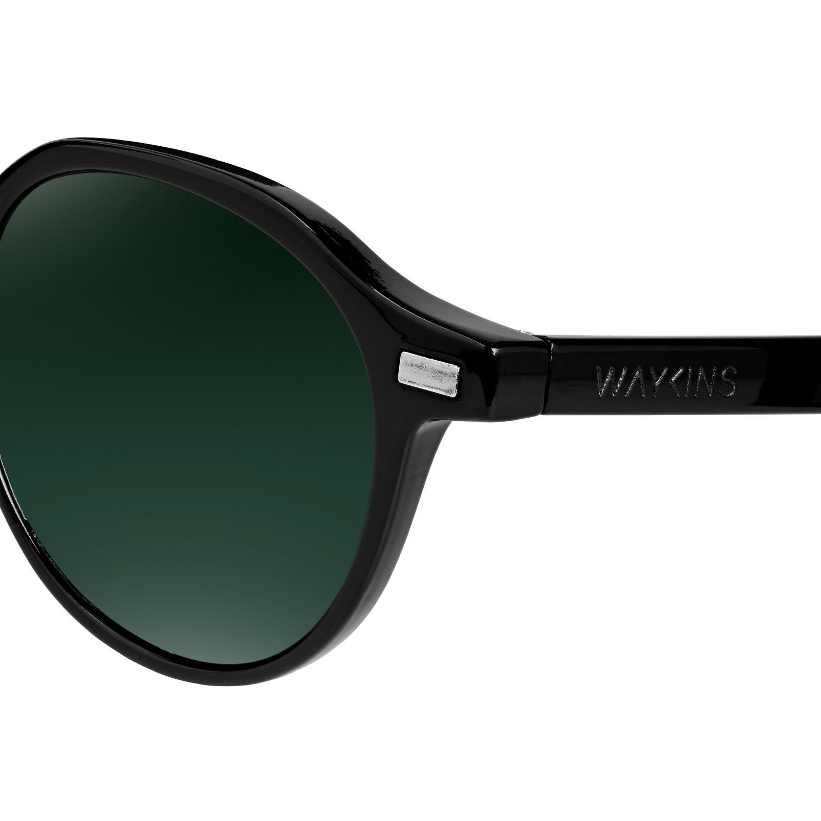 Wagner Schwarze Sonnenbrille DOZsuDX