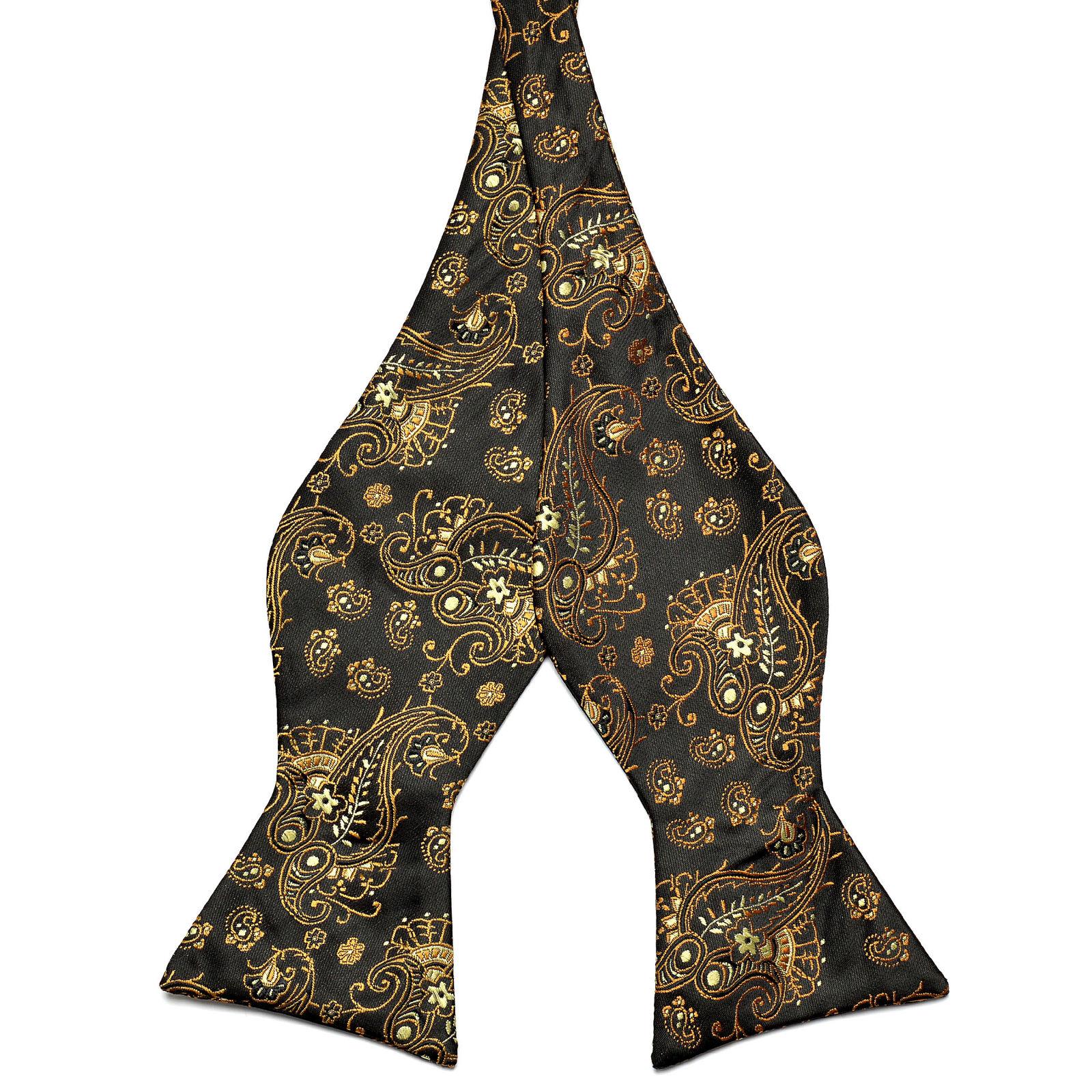 Arc De Soie À Motif Noir Cravate Trendhim JruB3XH