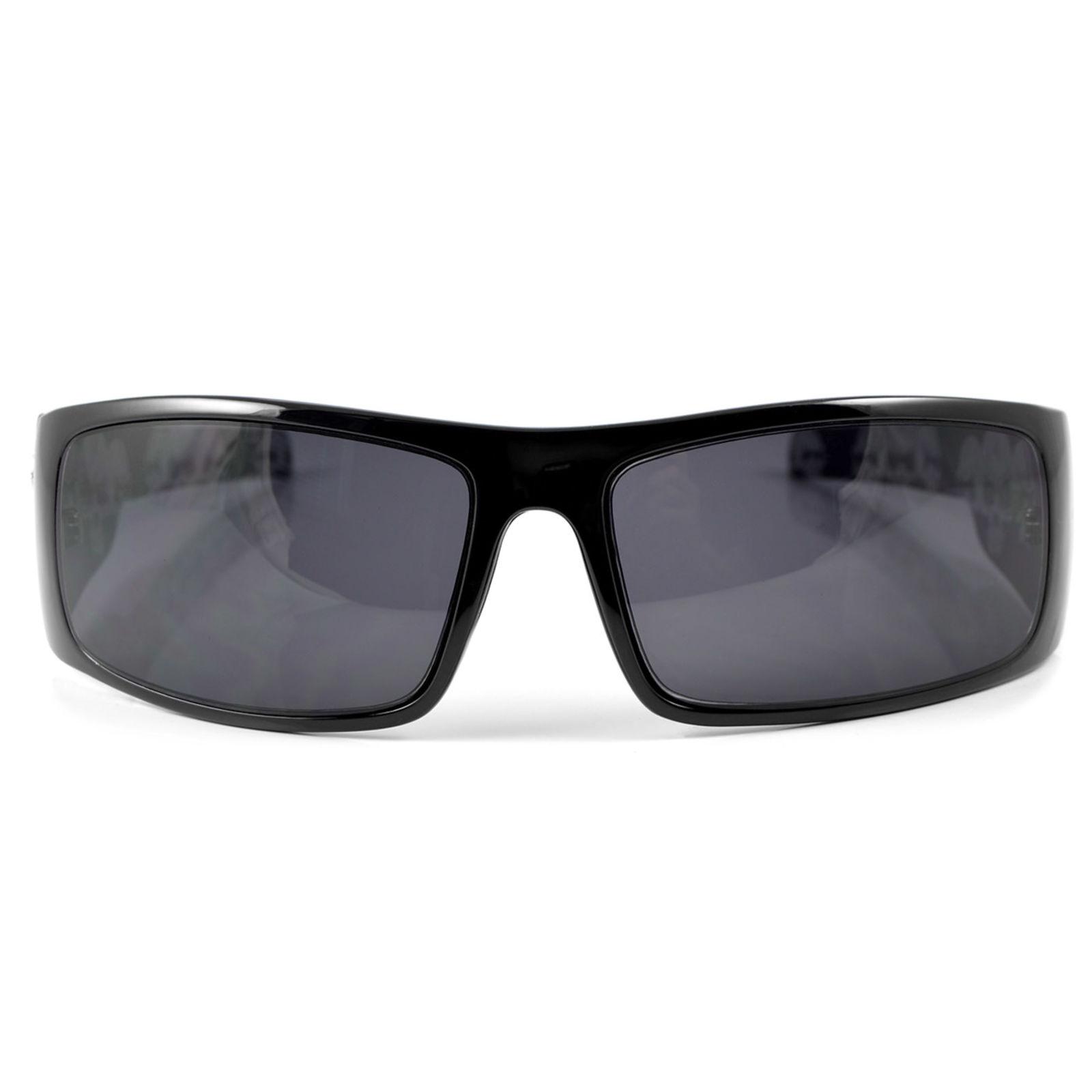 Occhiali da sole Locs da motociclista con teschi RTyMLif