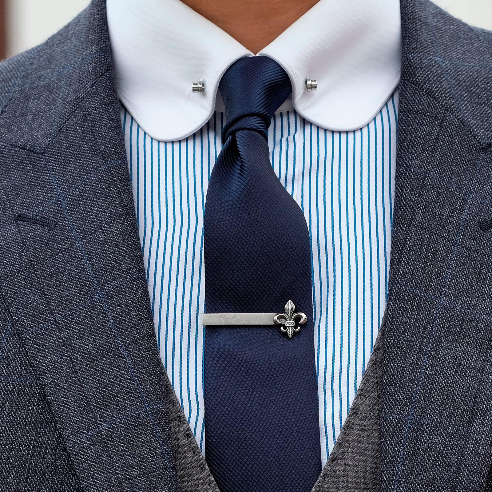 Rayé Noir Et Cravate Bleu Épinglette Trendhim sjVvbex