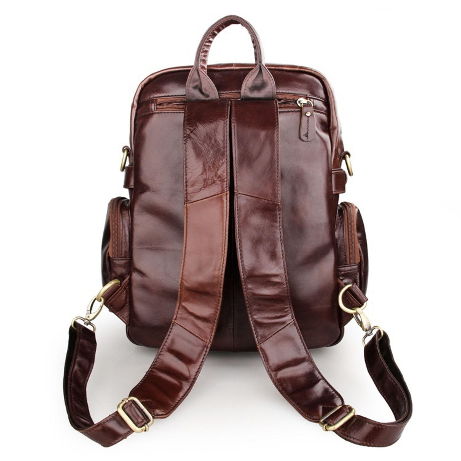 Multi Verzending Purpose Vintage Leren Gratis Backpack Lichtbruin Bqw1EvE