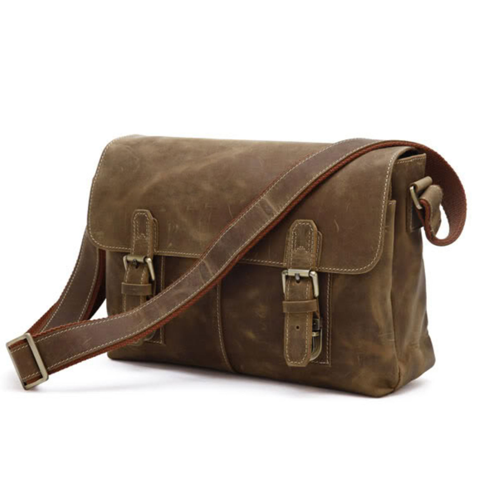 Overly Messenger Leather Bag Delton Bags 64C3v