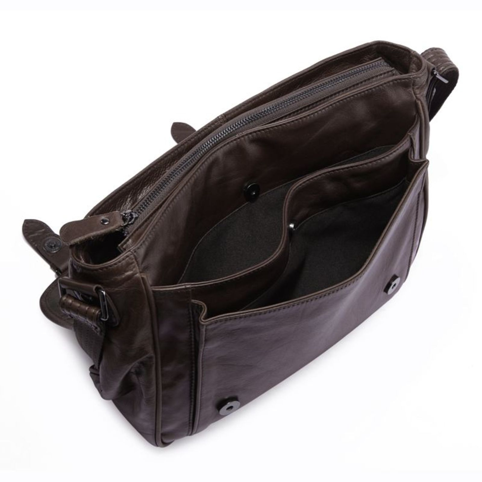 Bolsos Overly Leather Bag Delton Messenger WTBqF