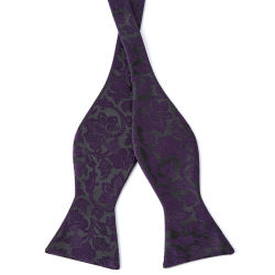 Red Flowers Cotton Self Tie Bow Tie Trendhim R82V2