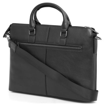 Grab & Go Black Delton Leather Bag Delton Bags Discount Pay With Paypal eqe25x3Yf2