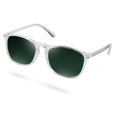 Wade Durchsichtige & Grüne Sonnenbrille A1n9kJ