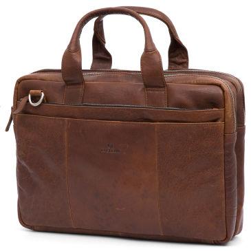 Sac brun pour ordinateur portable California 9Ym6Vh5RQ