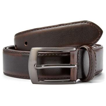 Smooth Cameo Brown Leather Belt Trendhim mp6j03d0QM