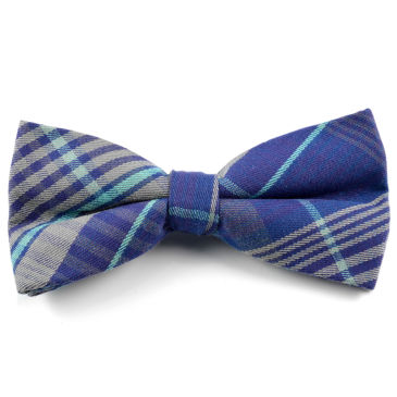 Blue Faux Leather Bow Tie Trendhim Cheap Big Discount OLJwKJsbq