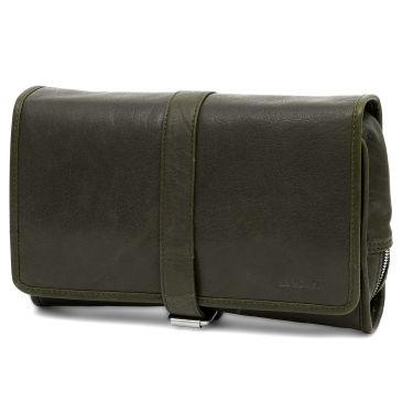 Petit sac en bandoulière Montréal en cuir vert olive b9V4zwUrwA